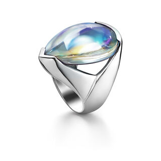 PSYDÉLIC RING, Iridescent clear