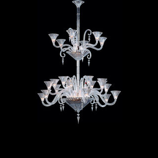 MILLE NUITS CHANDELIER 6 TO 24 LIGHTS, Clear