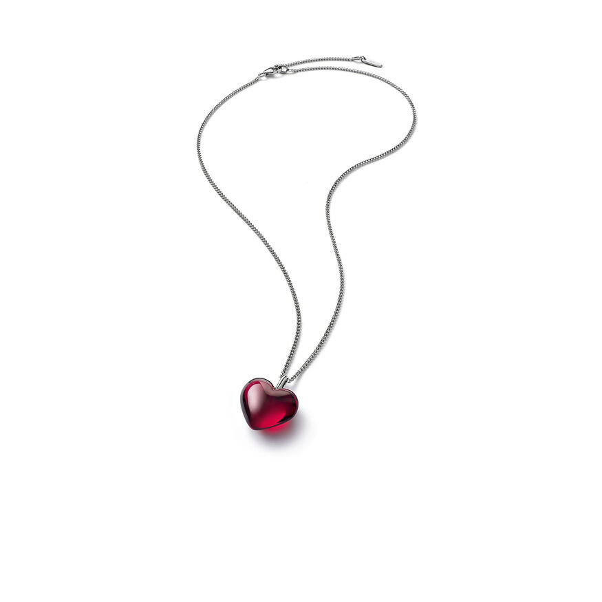 ROMANCE NECKLACE  Red mirror Image