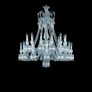 ZÉNITH CHANDELIER 8 TO 24 LIGHTS  Clear