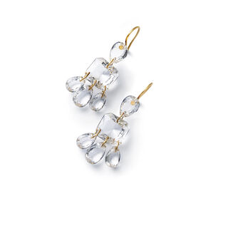 BACCARAT PAR MARIE-HÉLÈNE DE TAILLAC EARRINGS  Clear