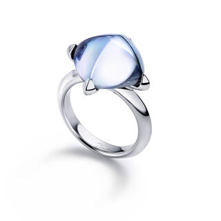 MÉDICIS RING  Aqua mirror