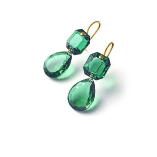 CRYSTAL DROPS OF COLOUR BACCARAT PAR MARIE-HÉLÈNE DE TAILLAC EARRINGS  Green Image