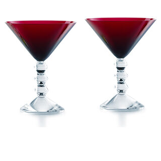VÉGA MARTINI GLASS  Red