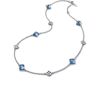 MINI MÉDICIS NECKLACE  Riviera blue