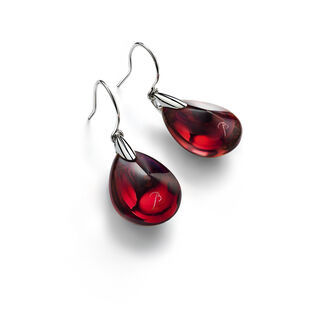 PSYDÉLIC EARRINGS  Iridescent red