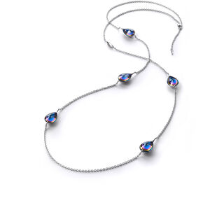 FLEURS DE PSYDÉLIC LONG NECKLACE  Blue scarabee