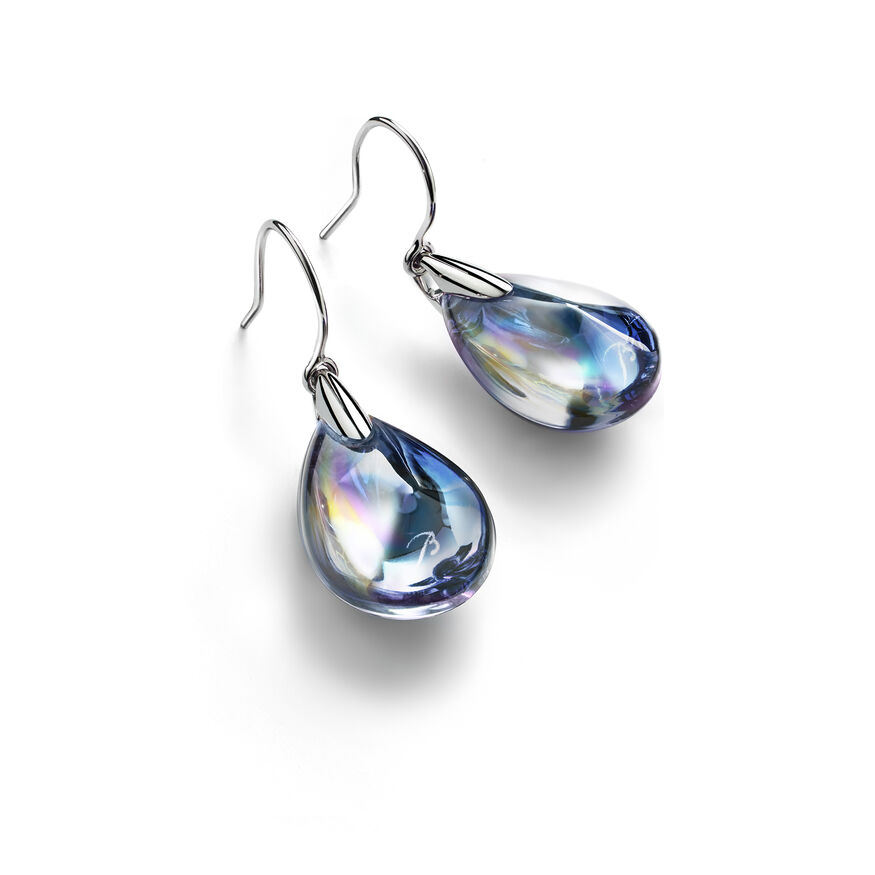 PSYDÉLIC EARRINGS  Iridescent clear