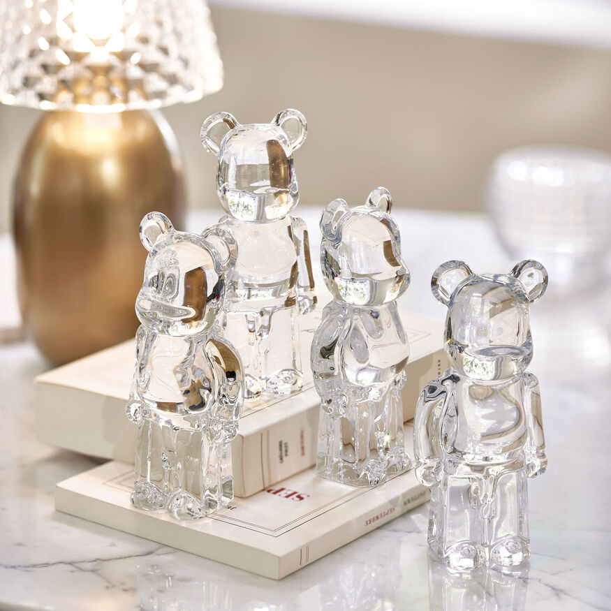 BE@RBRICK CLEAR 透明玩偶,  - 2