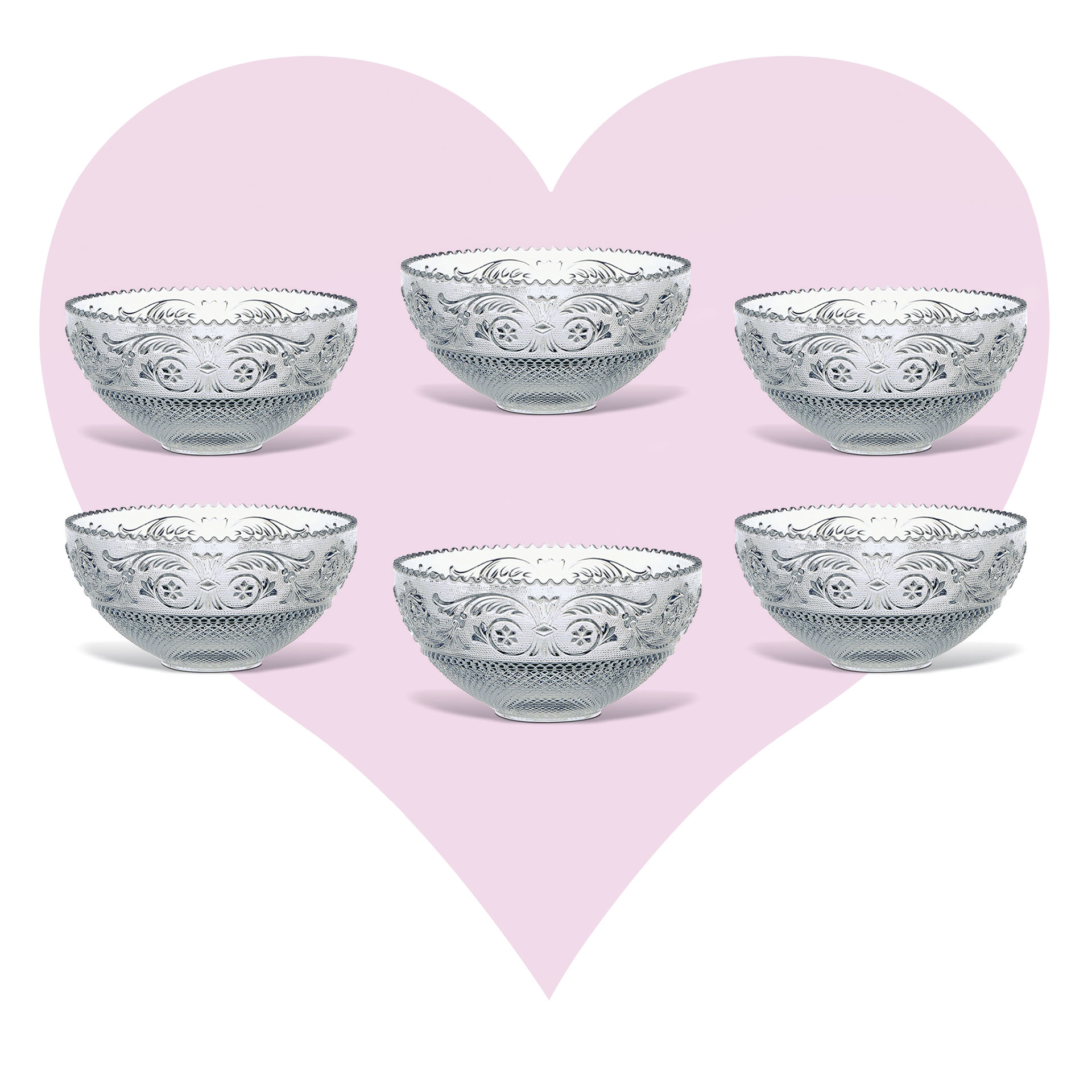 ARABESQUE DESSERT SET